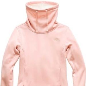 NWT North Face rose gold pullover